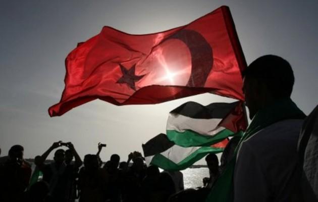 Όταν η Χαμάς υψώνει την τουρκική σημαία στη Γάζα, ποιο είναι το ...