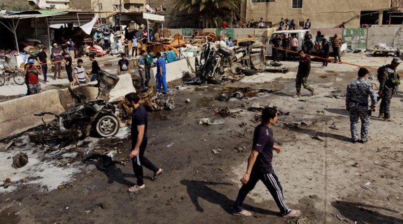 Ιράκ: Έντεκα νεκροί από επίθεση αυτοκτονίας στη Βαγδάτη