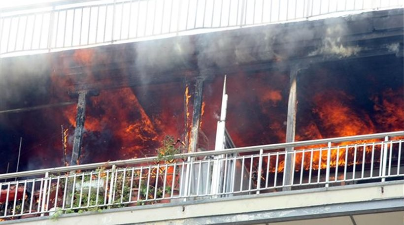 Πυρκαγιά σε διαμέρισμα στα Σεπόλια