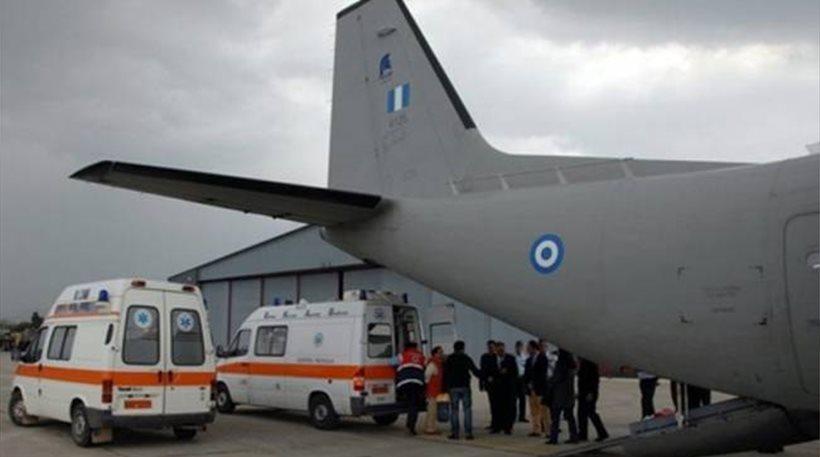 Εσπευσμένη αεροδιακομιδή νεογέννητου από το Ηράκλειο στην Ελευσίνα
