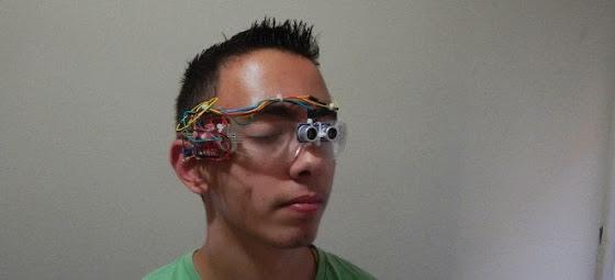Η Ελλάδα του μέλλοντος: Μαθητής από την Άρτα έφτιαξε ειδικά γυαλιά για τυφλούς και τον αποθεώνει η Google [Εικόνες]