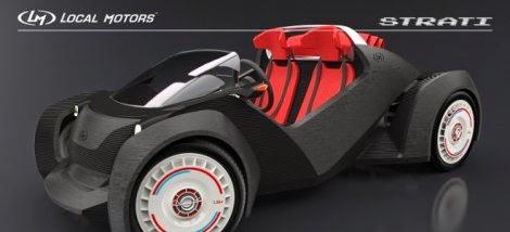 Δείτε το πρώτο «εκτυπωμένο» αυτοκίνητο [Βίντεο]