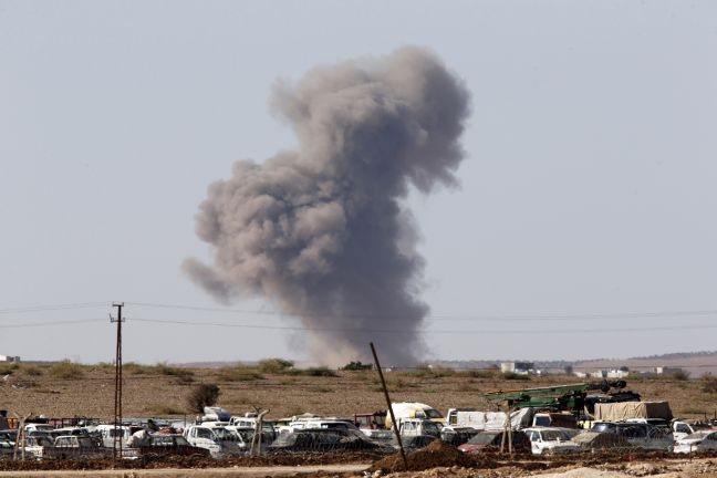 Αντάρτικο πόλης πλέον από τους Κούρδους μέσα στην Κομπάνι