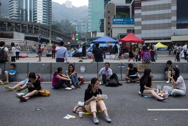 Αποκλιμάκωση των κινητοποιήσεων στο Χονγκ Κονγκ