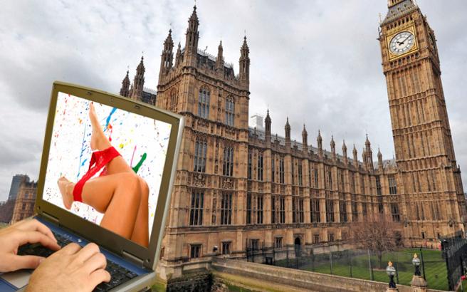 «Πάρτι» επισκέψεων σε «ροζ» ιστοσελίδες στο Βρετανικό Κοινοβούλιο