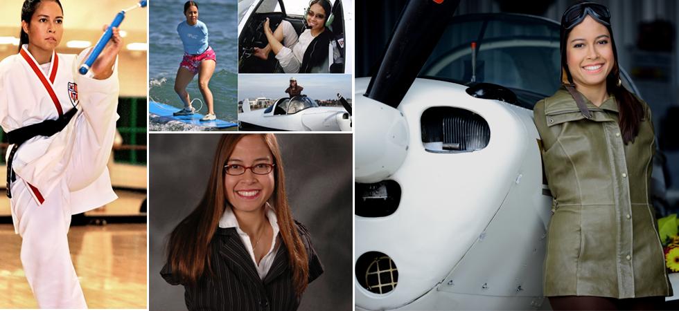 Jessica Cox: Η πρώτη γυναίκα χωρίς χέρια με άδεια πιλότου