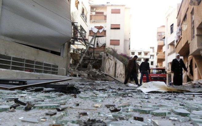 Πύραυλος σκορπά το θάνατο στη Δαμασκό