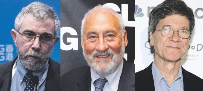Politico: Πώς οι Κρούγκμαν, Στίγκλιτς και Σακς οδήγησαν τους Ελληνες σε λάθος δρόμο