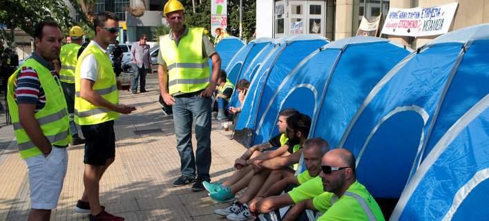 Μεταλλωρύχοι από τη Χαλκιδική: Μας έκλεψαν τις δουλειές