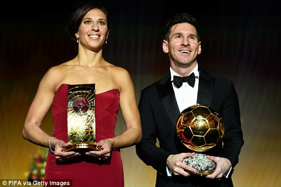 O Messi κέρδισε την «Χρυσή Μπάλα»