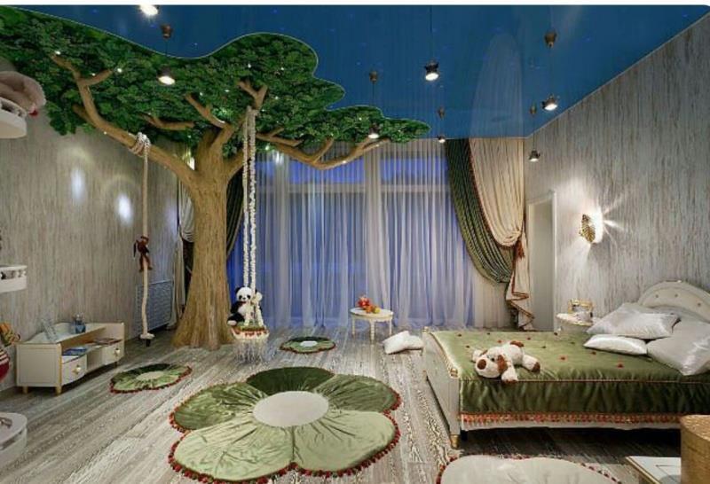 Παιδικά δωμάτια βγαλμένα από... παραμύθια