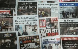 Επίθεση στις Βρυξέλλες: Η Επόμενη μέρα σε Πρωτοσέλιδα...