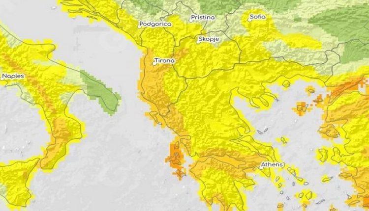Προσοχή! Οι περιοχές της Ελλάδας που είναι περισσότερο ευάλωτες σε καταστροφές λόγω σεισμού