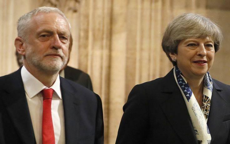 Νέα συνάντηση Μέι – Κόρμπιν για το Brexit
