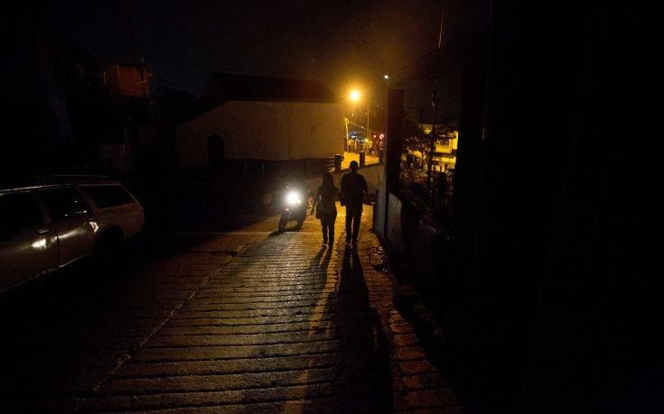 Χάος στη Βενεζουέλα από τη διακοπή ρεύματος