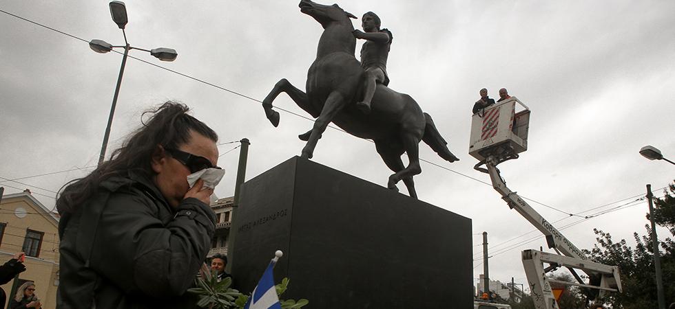 Τα «δώσαμε όλα» αλλά…πήραμε το άγαλμα του Μεγάλου Αλεξάνδρου