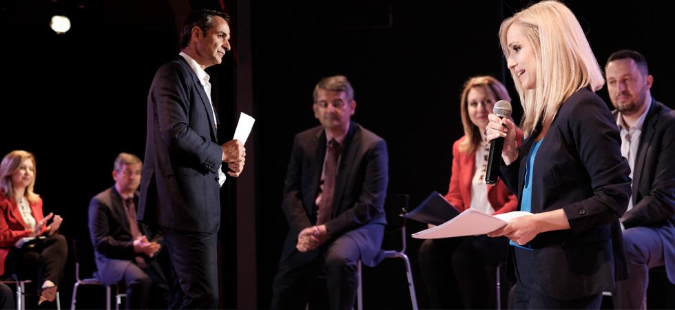 Τέσσερις δεσμεύσεις που ανακοίνωσε ο Κυριάκος Μητσοτάκης στο Δημοτικό Θέατρο Καλλιθέας