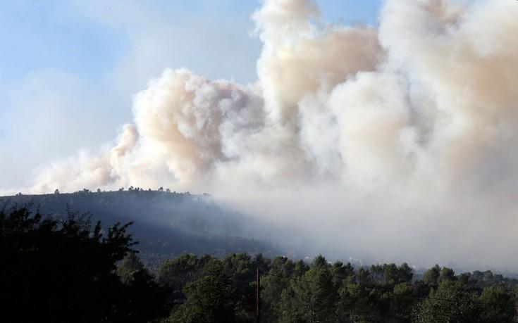 Πυρκαγιές στη Γαλλία, κάηκαν χιλιάδες στρέμματα καλλιεργειών