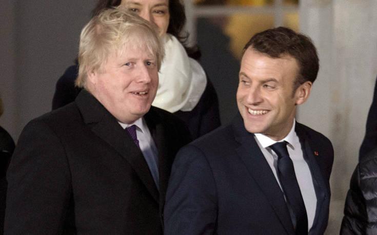Ο Τζόνσον παρουσίασε τη θέση του για το Brexit στον Μακρόν