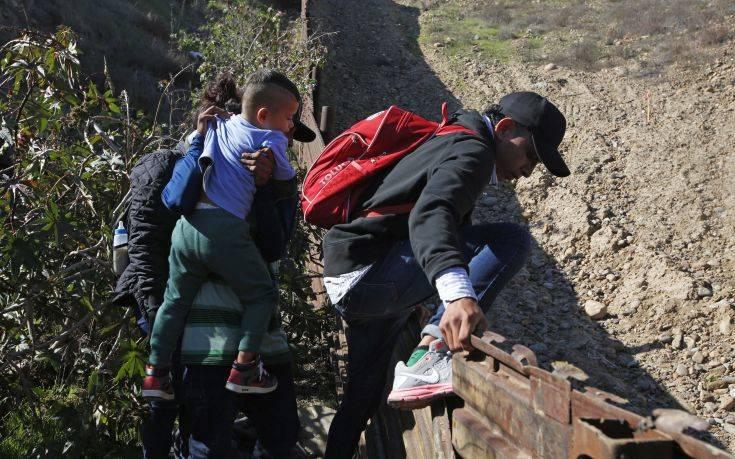 Μείωση της μετανάστευσης διαπιστώνουν ΗΠΑ και Μεξικό