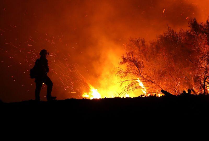 Ποιες περιοχές είναι επικίνδυνες για πυρκαγιά την Τρίτη