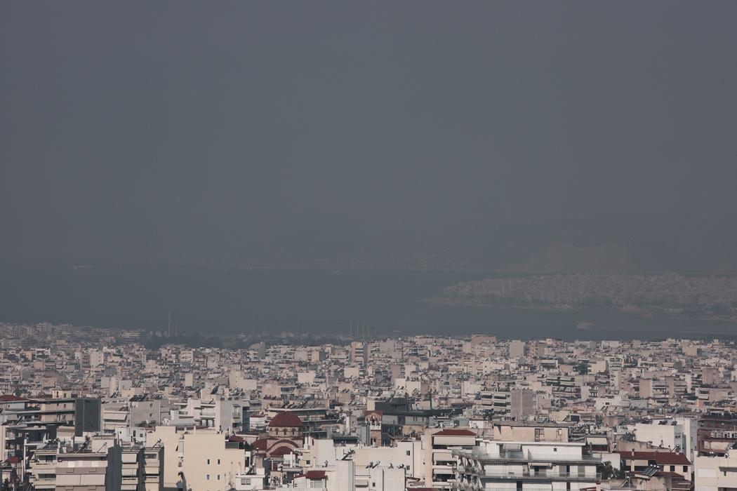 «Χάθηκε» η Ακρόπολη από τον καπνό