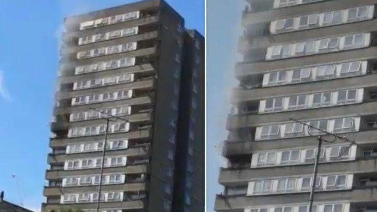 Φωτιά ξέσπασε σε κτιρίου κοντά στον Πύργο Γκρένφελ, στο Λονδίνο