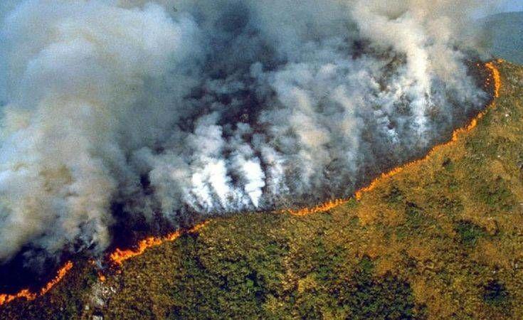 Μπολσονάρου για Αμαζόνιο: Θα μπορούσα να κατηγορήσω για τους εμπρησμούς τους… Αρειανούς