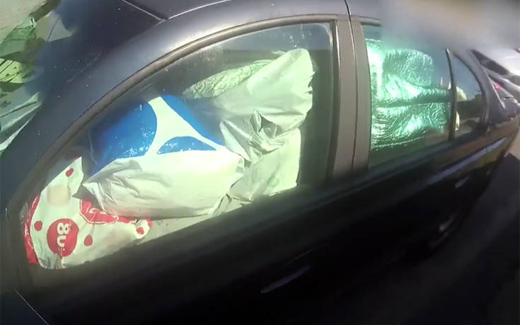 Το αμάξι του ήταν τόσο τίγκα στη σαβούρα που… έφαγε πρόστιμο