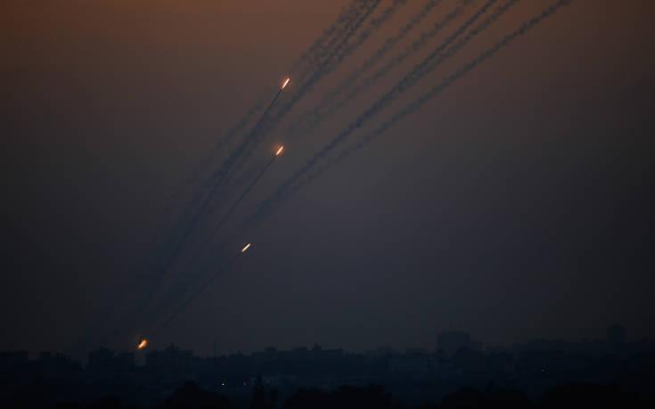 Τρεις ρουκέτες εκτοξεύτηκαν από τη Λωρίδα της Γάζας προς το Ισραήλ