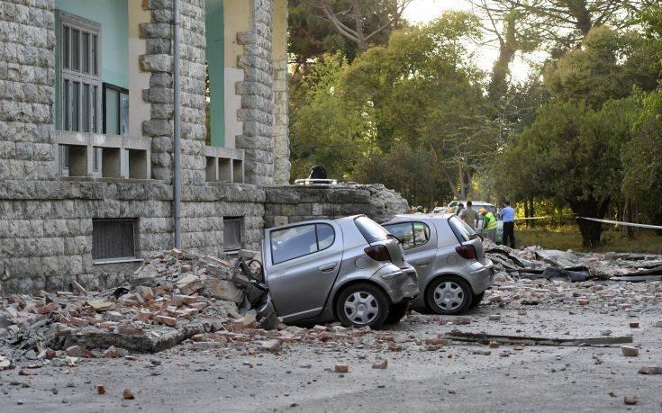 Πάνω από 340 μετασεισμοί στην Αλβανία μετά τις δύο δονήσεις του Σαββάτου