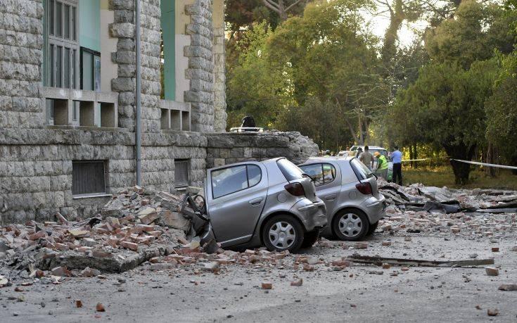Αλβανία: Σοβαρές ζημιές σε σπίτια από το σεισμό