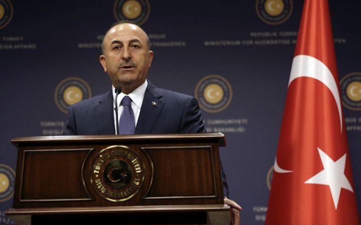 Τσαβούσογλου για Συρία: Κυρώσεις και απειλές δεν σταματούν την Τουρκία