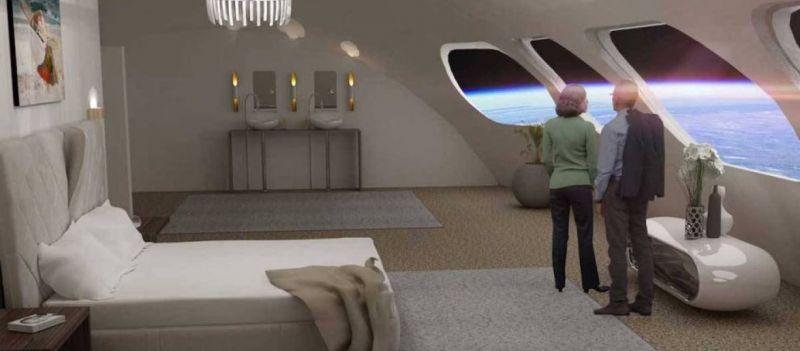 To πρώτο ξενοδοχείο στο διάστημα θα είναι έτοιμο το 2025