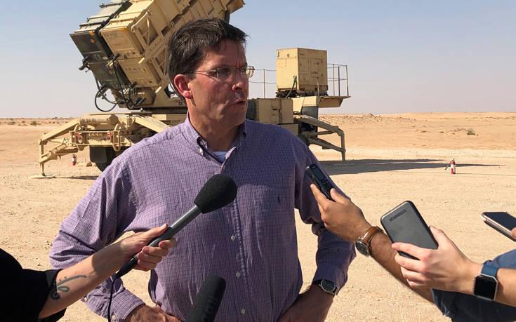 Ο υπουργός Άμυνας των ΗΠΑ επισκέφθηκε τη Βαγδάτη