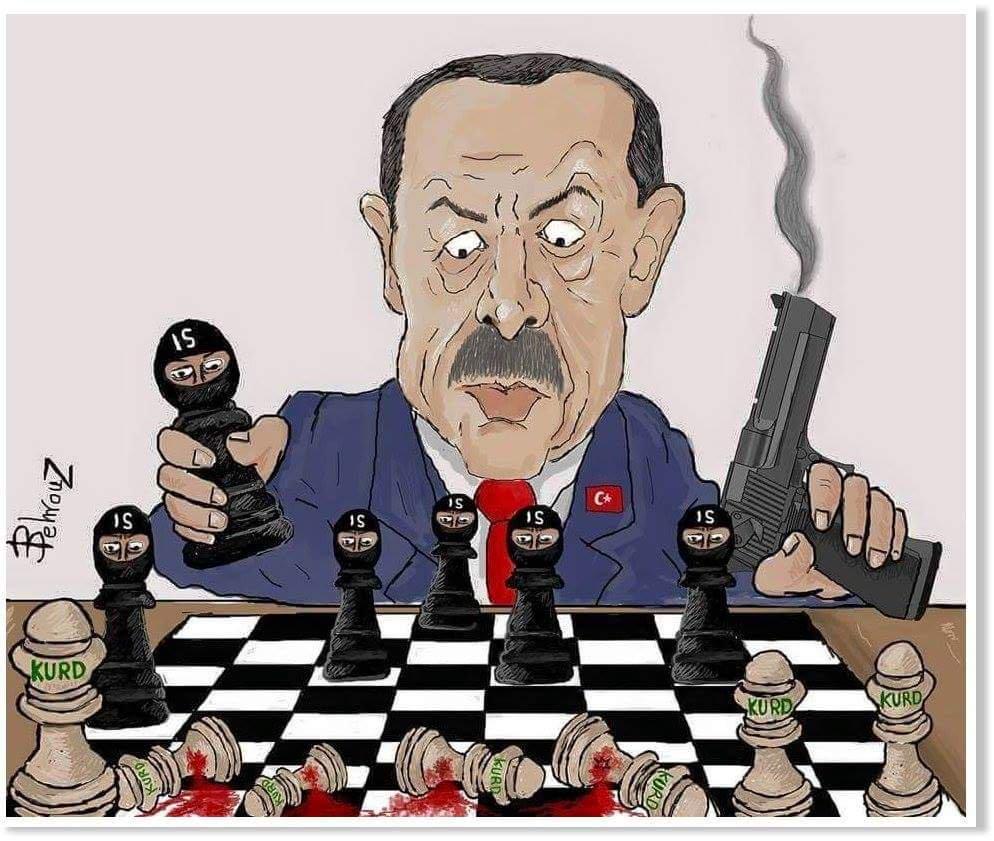 O μεγάλος κίνδυνος για τη Δύση και τον πλανήτη παίρνει σάρκα και οστά – Οι Τζιχαντιστές στα χέρια του Σουλτάνου