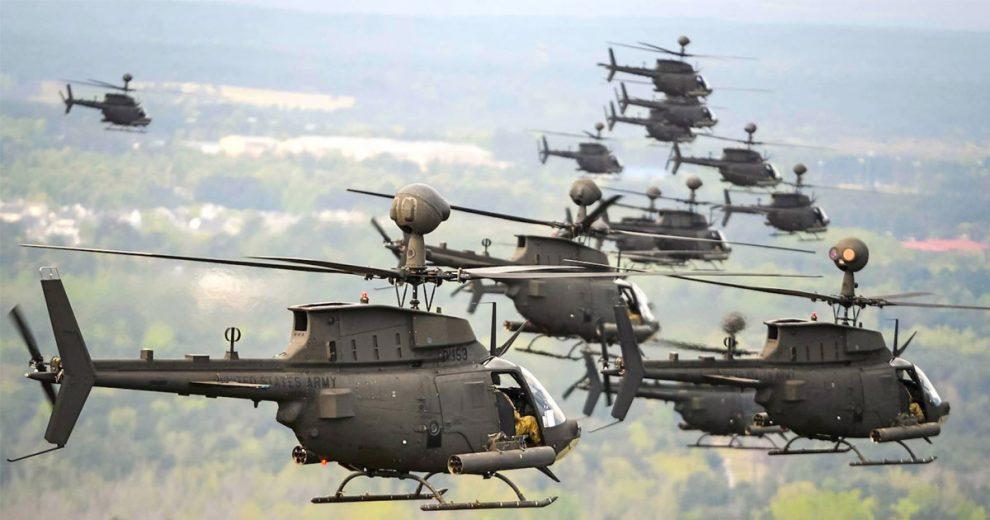 «Απόβαση» 40 ελικοπτέρων των ΗΠΑ στον Βόλο!