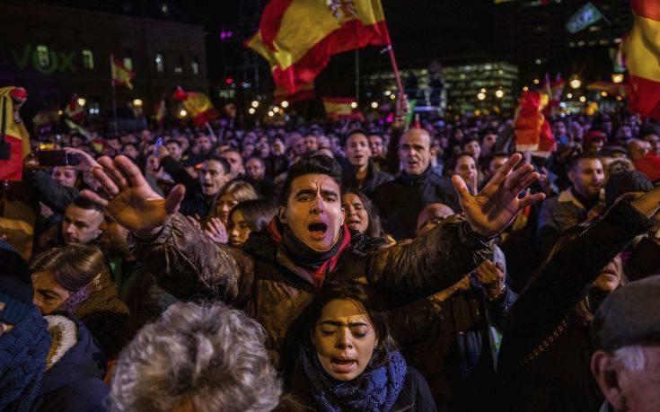 Ισπανία: Εδραιώνεται ενόψει των εκλογών της Κυριακής το ακροδεξιό Vox