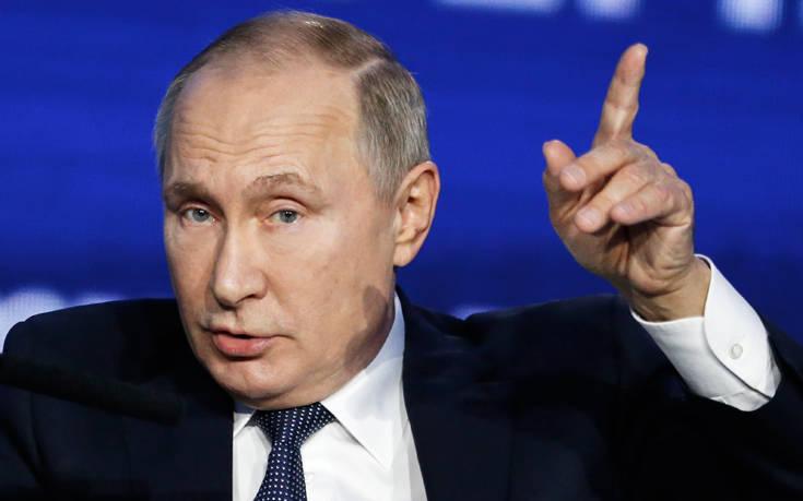 Την υπόσχεση να τελειοποιήσει ένα μυστηριώδες όπλο έδωσε ο Πούτιν