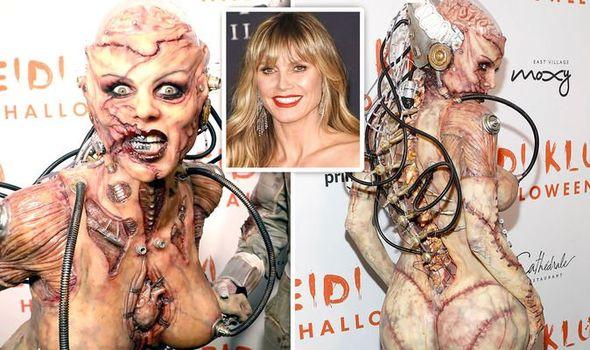 Σκιαχτήκαμε με την εμφάνιση της Heidi Klum –  Η πιο τρομακτική Halloween εμφάνιση που είδαμε φέτος