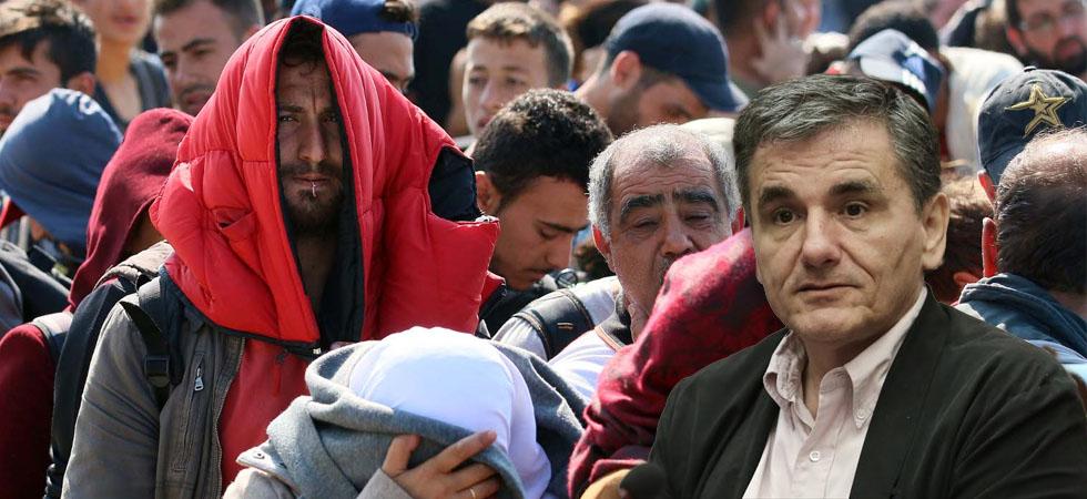 Τσακαλώτος: Οι πρόσφυγες είναι πόρος, βοηθούν την οικονομία και το ασφαλιστικό