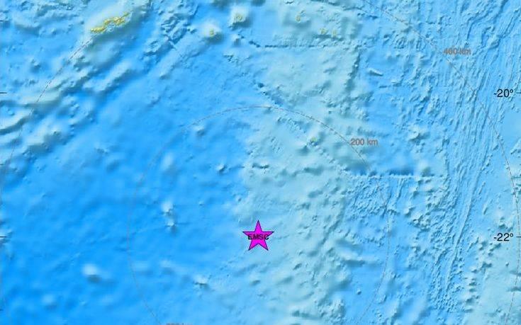 Ισχυρός σεισμός στα νησιά Φίτζι