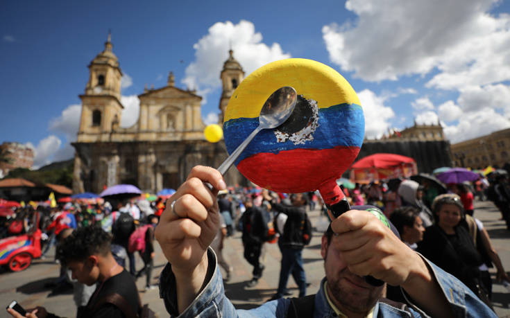 Κολομβία: Αδιέξοδο και μετά τη νέα συνάντηση των απεργών με την κυβέρνηση
