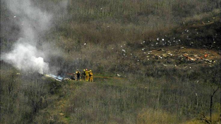 Εννέα οι νεκροί από την πτώση του ελικοπτέρου που επέβαινε ο Κόμπι Μπράιαντ