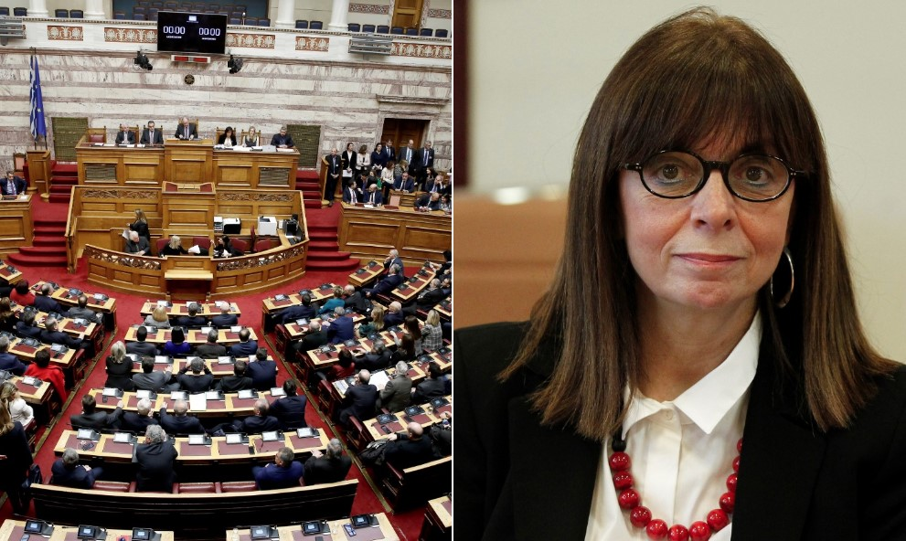 Έκλέχθηκε η Αικατερίνη Σακελλαροπούλου  Πρόεδρος της Δημοκρατίας