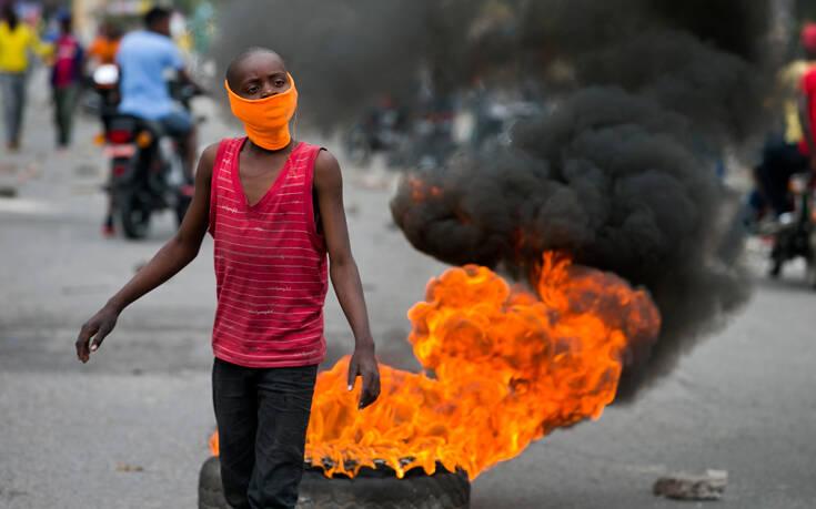 Πεδίο μάχης η πρωτεύουσα της Αϊτής μετά τα επεισόδια με δύο νεκρούς