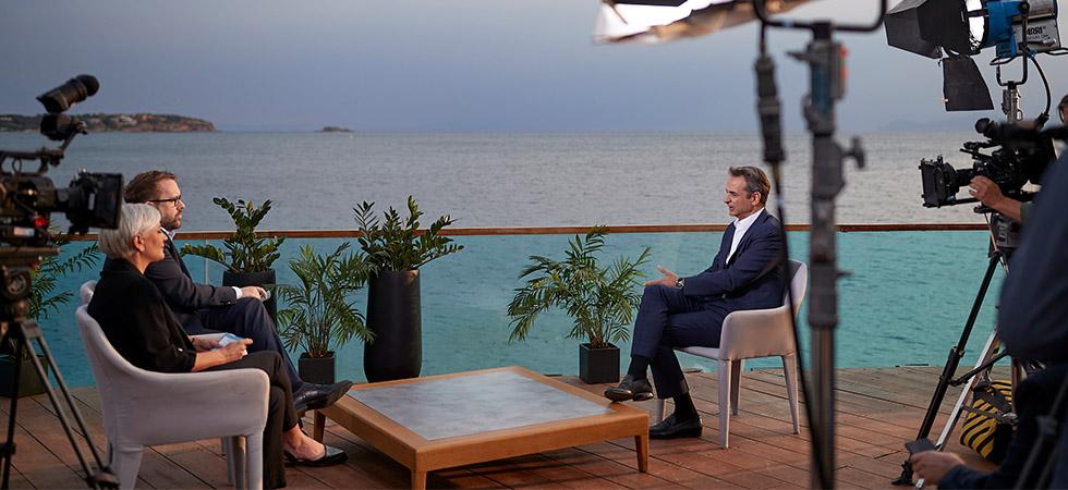 Συνέντευξη Μητσοτάκη στη Bild: Η Ελλάδα φυλάει τα σύνορα της Ευρώπης!