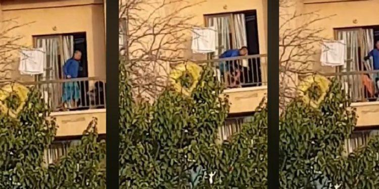 Άνδρας ξυλοκόπησε στο μπαλκόνι τη σύντροφο και τον σκύλο τους