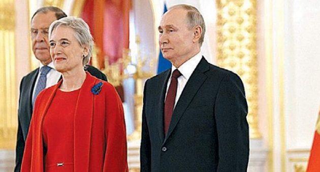Τι συζήτησε ο Ρώσος υφ. Εξωτερικών με την πρέσβειρα της Ελλάδας στη Μόσχα